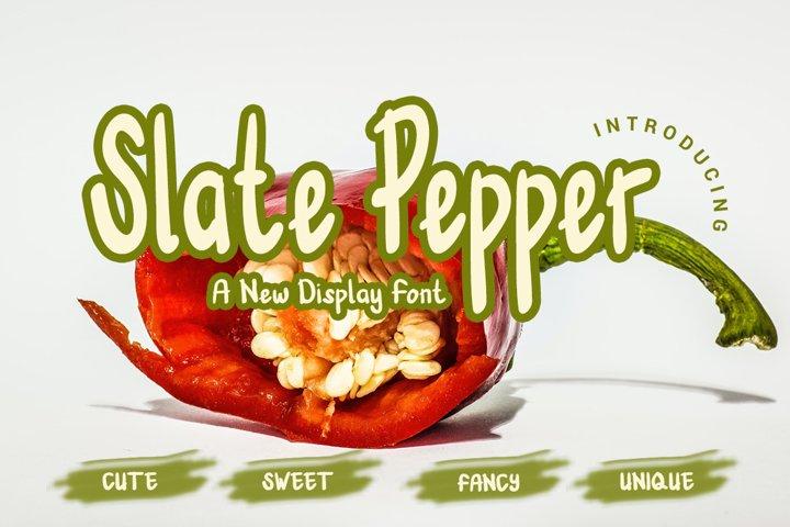 Slate Pepper