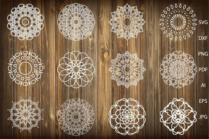 Mandala svg,Mandalas svg,Mandala Monogram Frame