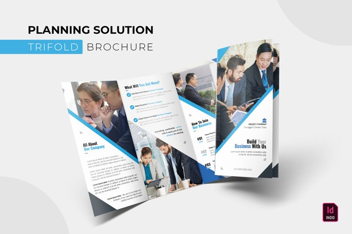 Planning Solution | Trifold Brochure