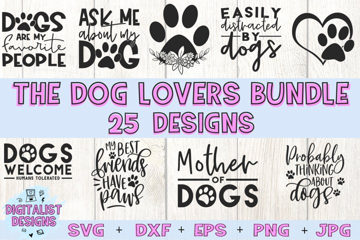 Dog SVG Bundle | Pets SVG | Dog Quotes SVG