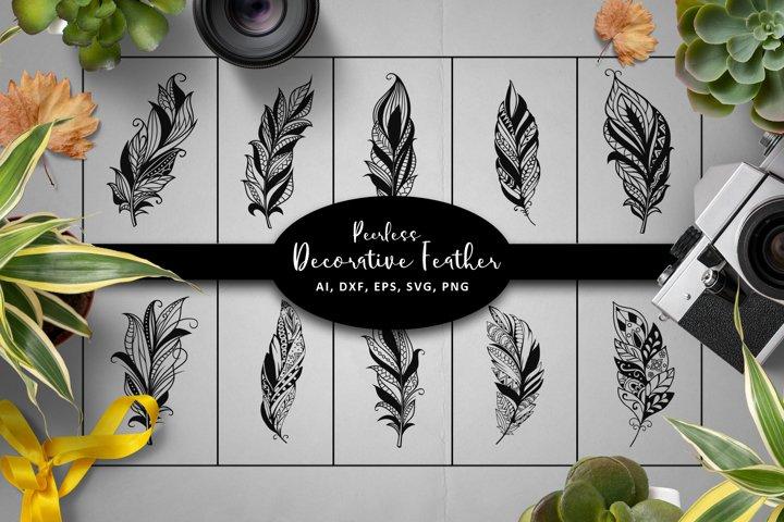 Peerless Feathers SVG