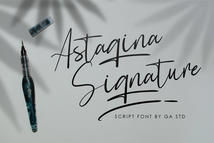 Astagina Signature