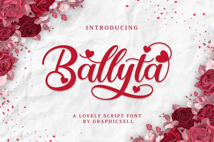 Ballyta Script
