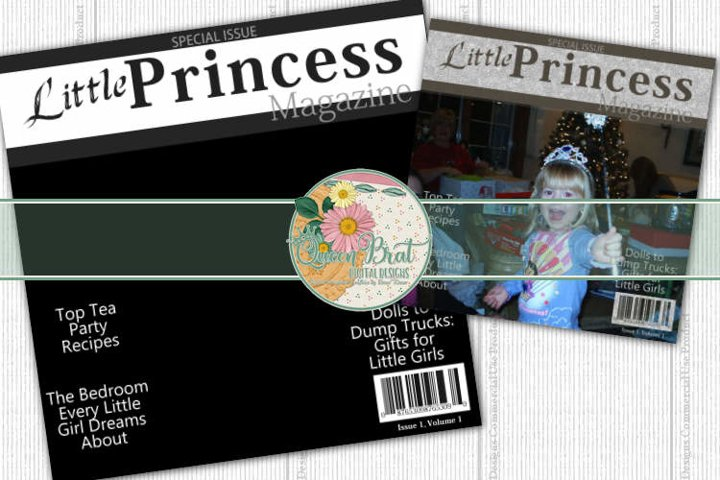 Magazine Cover Little Princess