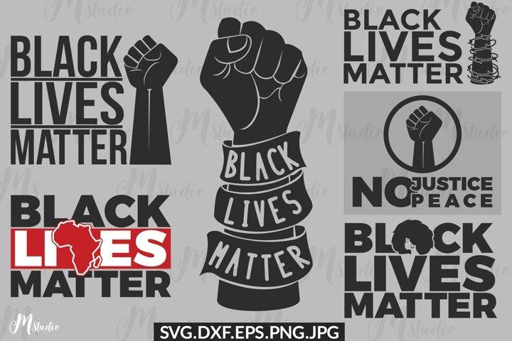 BLM SVG Bundle, Black Lives Matter SVG Bundle.