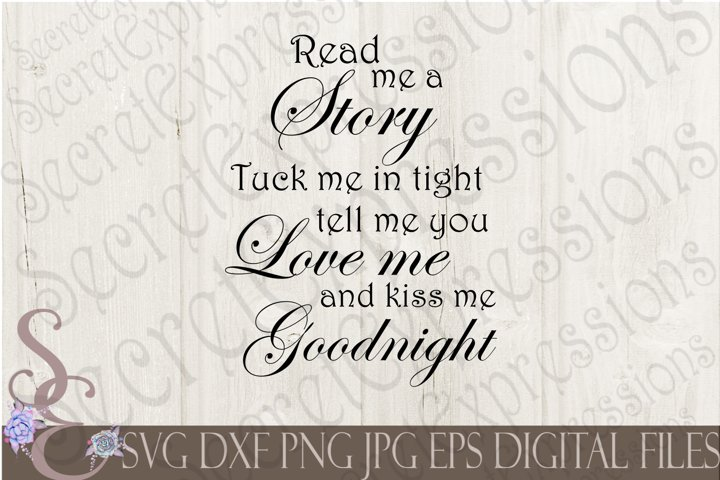 Read me a Story tuck me in tight
