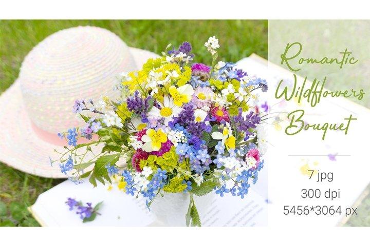 Romantic Wildflowers Bouquet