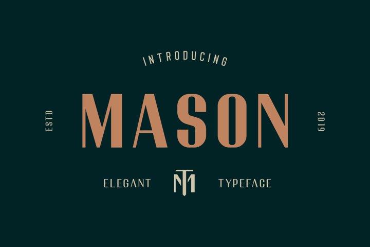 Mason Elegant Typeface