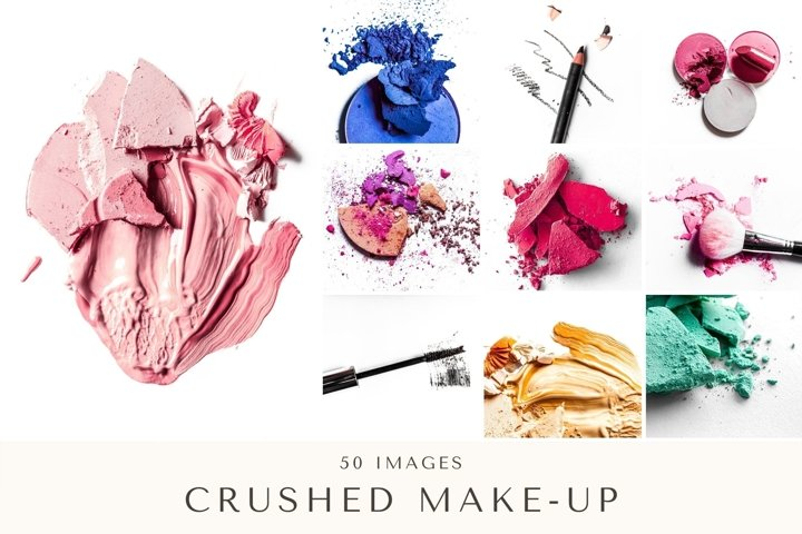 50 Images | Crushed Make-Up Bundle