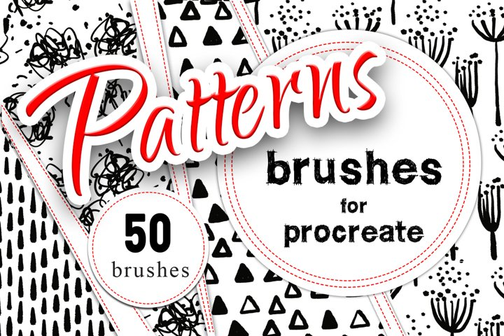 Hand Made Patterns-Brushes Procreate