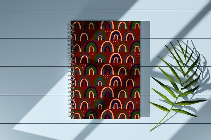 Modern Bohemian patterns. Boho pattern collection example 6