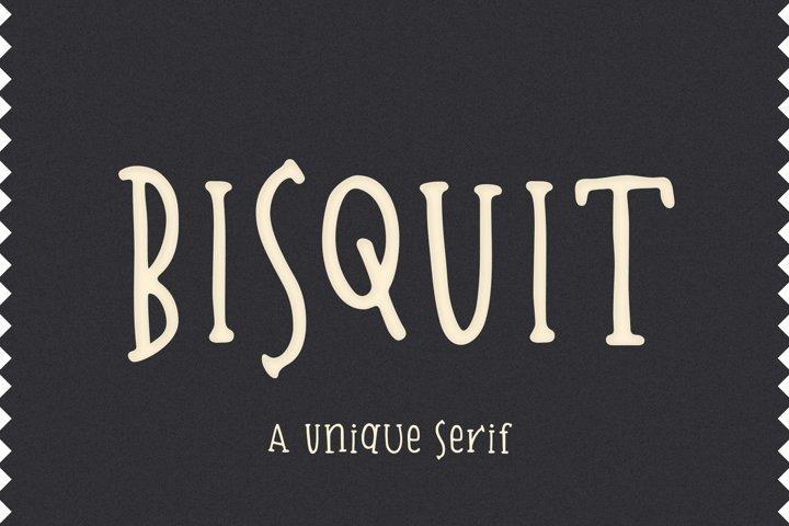 Bisquit   A Unique Serif