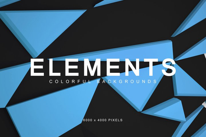 Elements Colorful Backgrounds