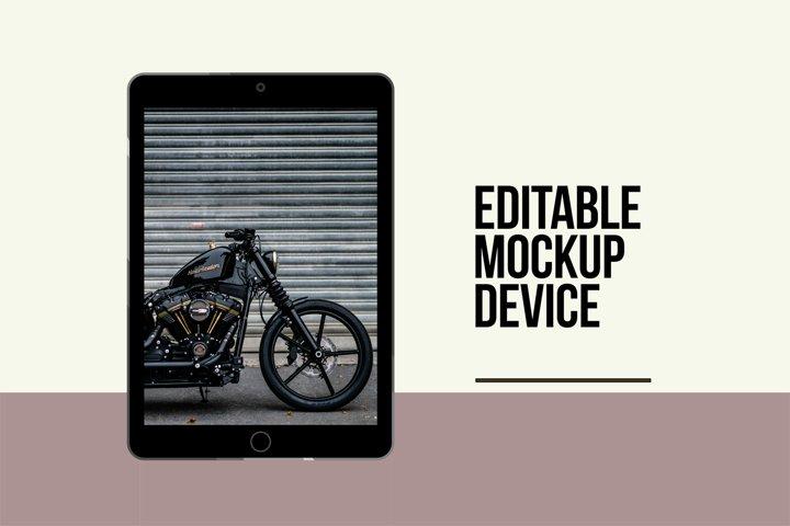 Editable TabletTemplate Vectors
