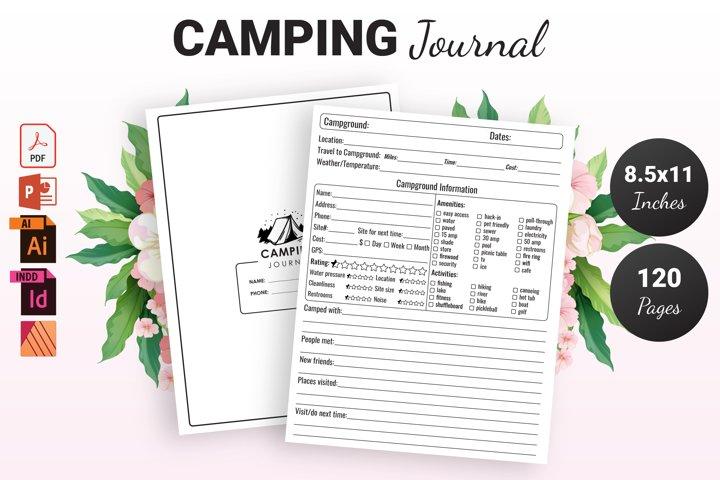 Camping Journal - KDP Interior
