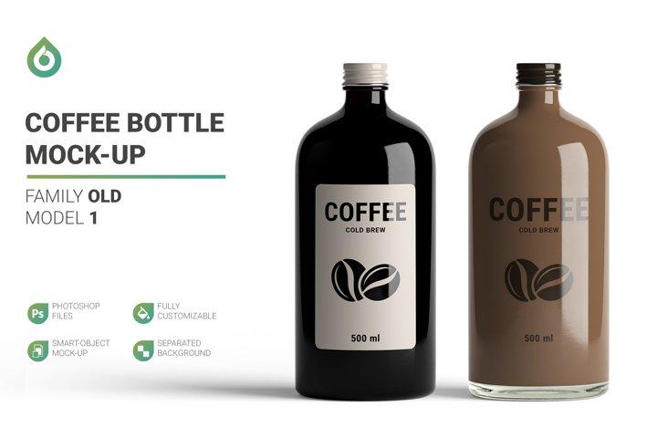 Coffee Bottle Mock-Up
