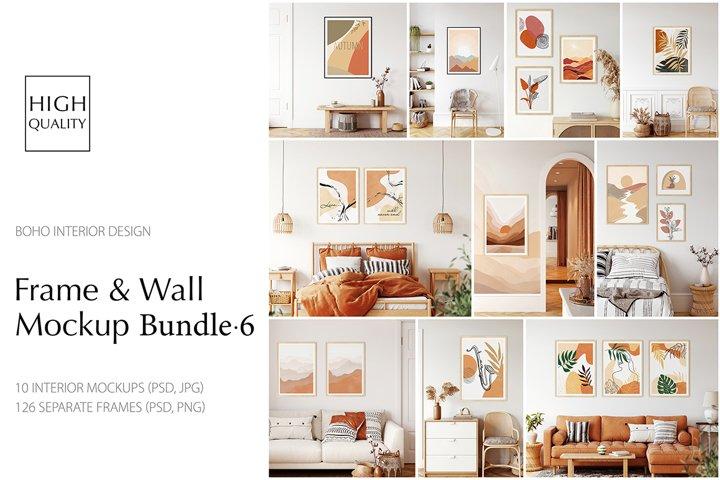 Frames & Walls Mockup Bundle - 6