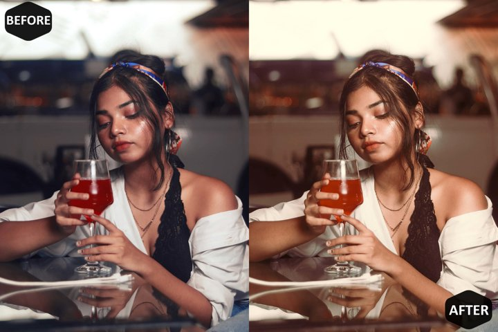 Milkshake Photoshop Action And ACR Presets, Peachy Ps preset example 9