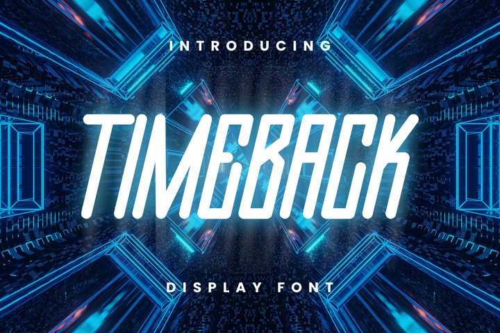 Timeback Font