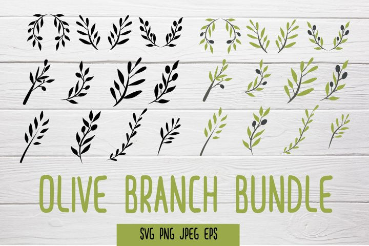 Olive Branches SVG