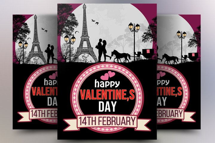 Valentines Day Template Poster