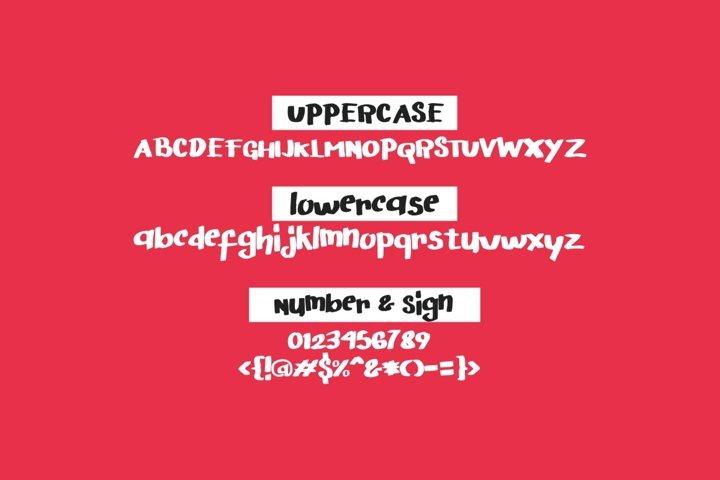 Arigato Handwritten Font example 6