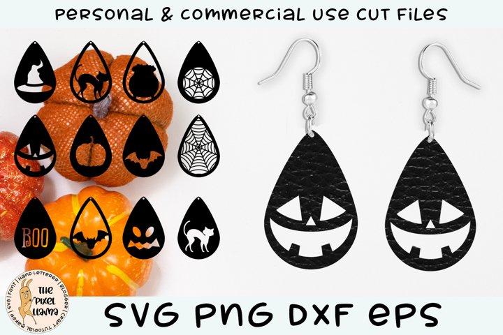Earrings SVG For Halloween