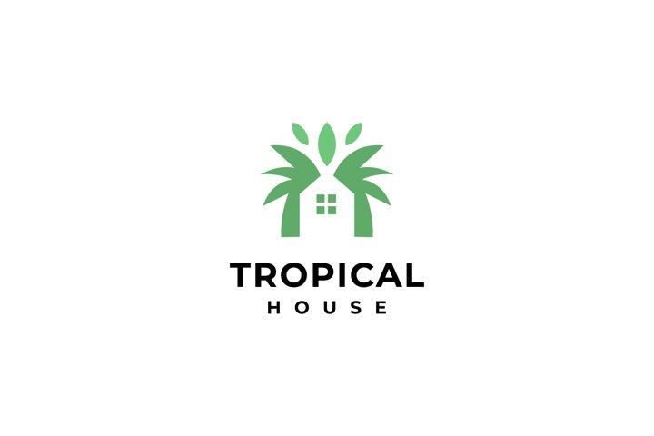 tropical house logo