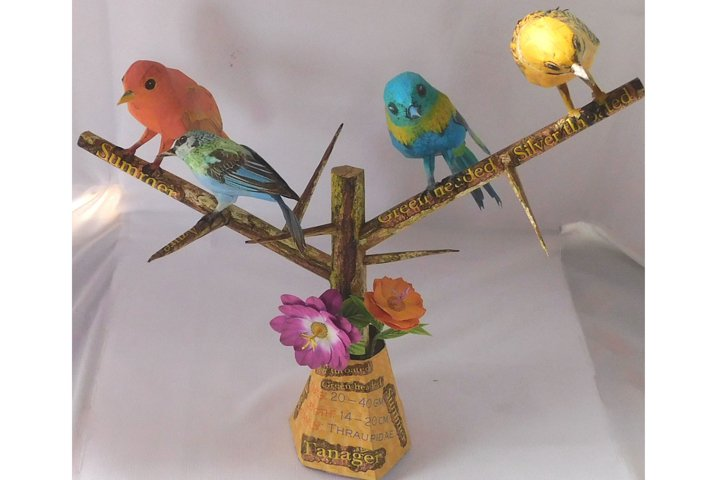 paper bird TAGAGER