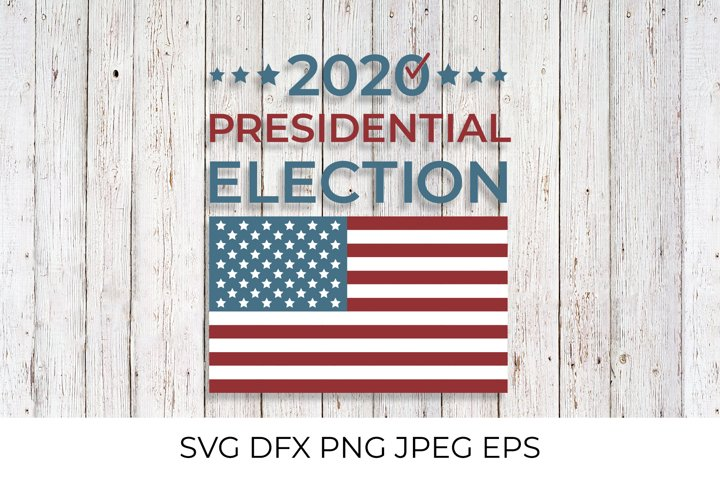 Presidential election 2020 United States of America SVG