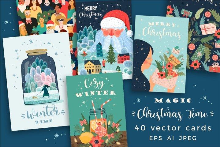 Magic Christmas Time. 40 cards