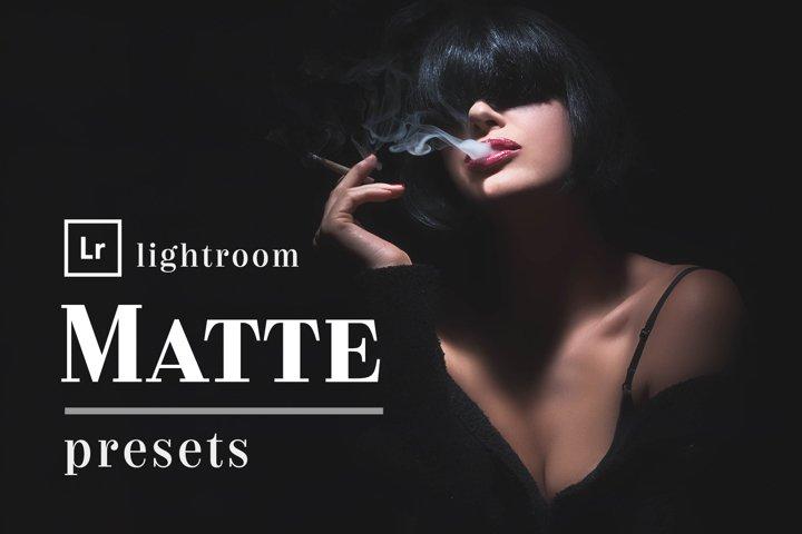 Matte Box - Lightroom Presets