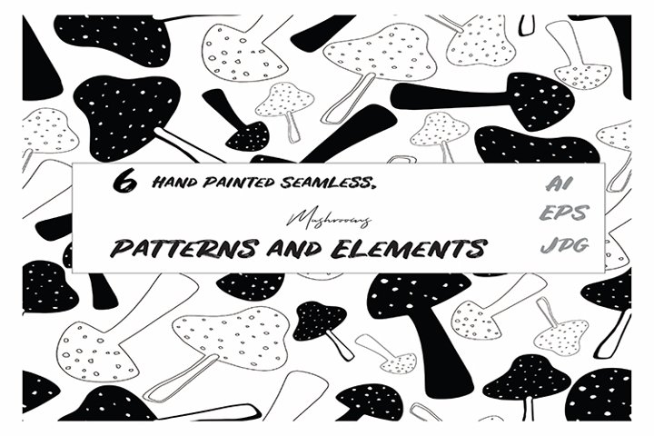 Mushrooms Patterns