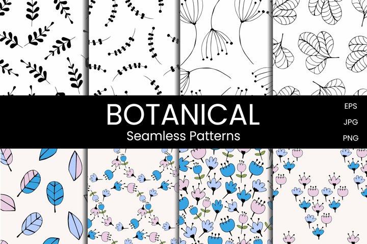 Botanical Seamless patterns