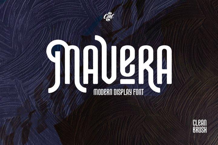 Mavera Font