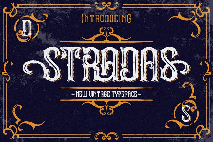 Stradas Display Font