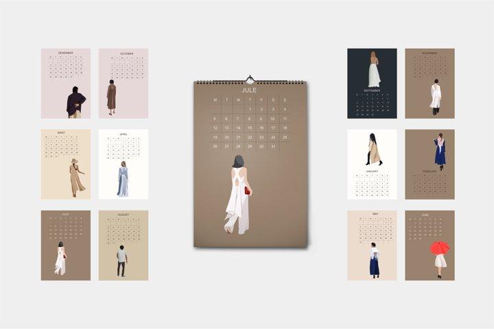 2021 Calendar- Instant Download-Print Scheduler