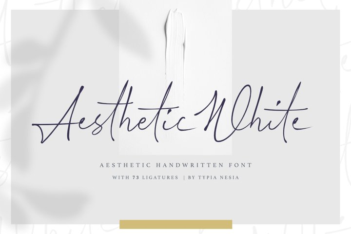 Aesthetic White