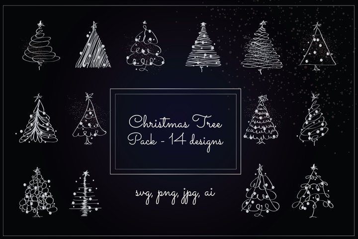 Christmas Tree Pack - Silver Version