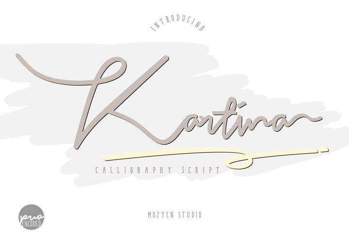 Kartina | Calligraphy Script