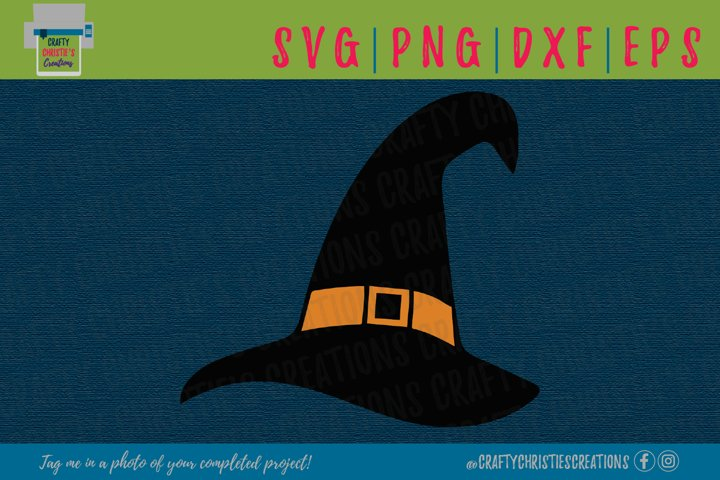 Witches Hat SVG - Witch SVG - Wizards Hat SVG - Halloween