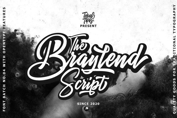 Braylend Script