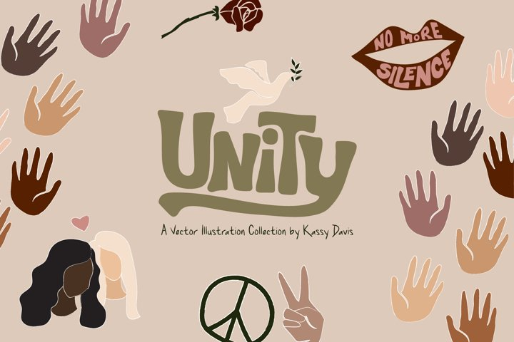 Unity, Human Rights Illustrations