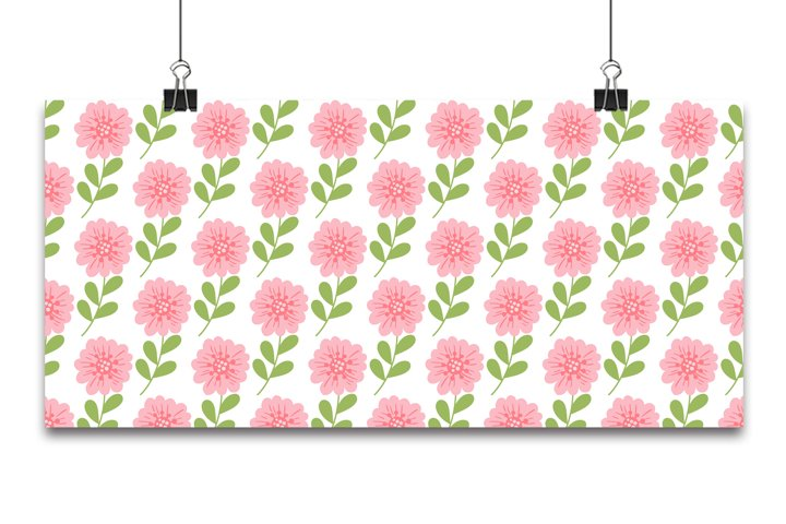 Trendy Seamless Floral abstract pastel background In Vector.