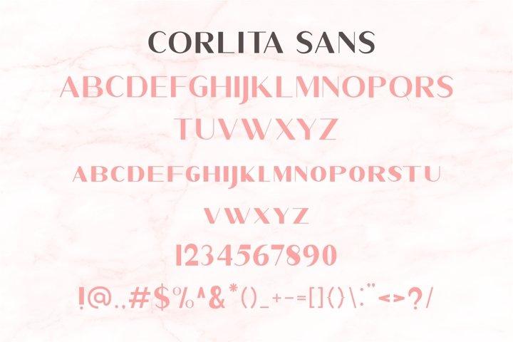 Corlita - Font Trio - Free Font Of The Week Design3