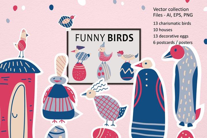 Funny birds
