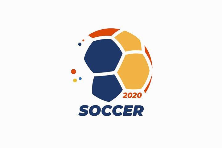 Soccer ball logo design
