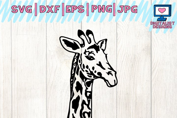 giraffe svg, giraffe clipart, giraffe face svg, svg files, animal svg, cricut, silhouette, vector, printable, iron on, dxf, png