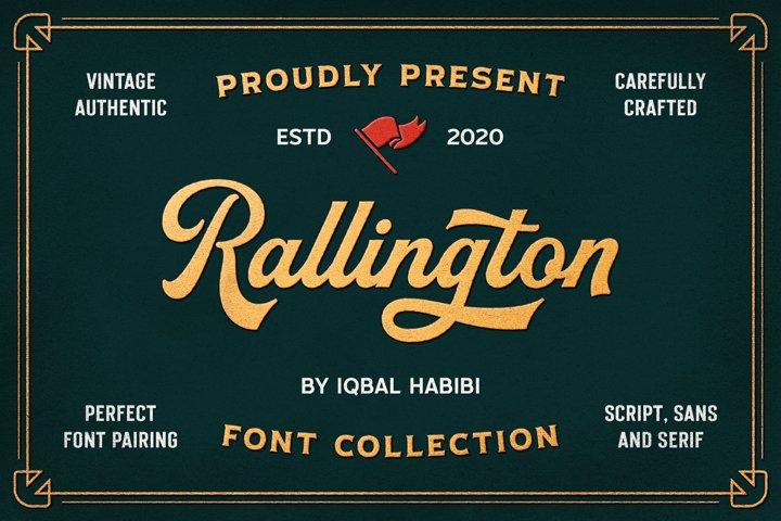 Rallington Font Collection