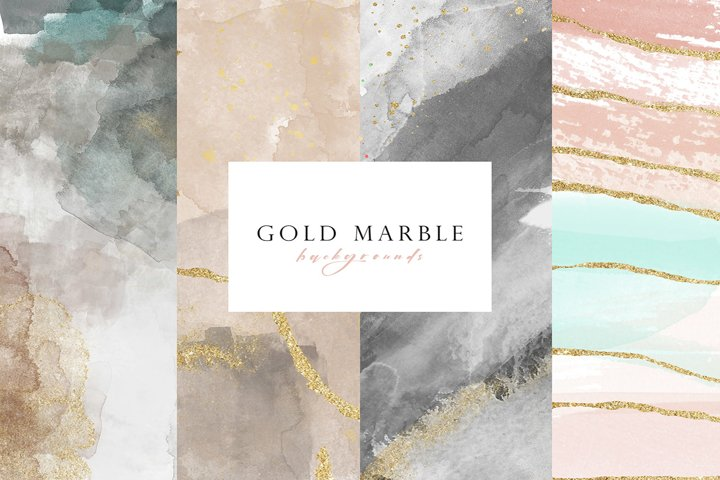 Gold watercolor background texture